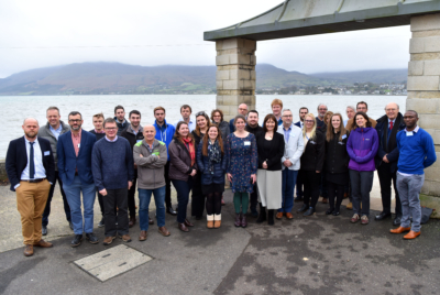 The MarPAMM team at the 2018 kick-off event at Warrenpoint, NI