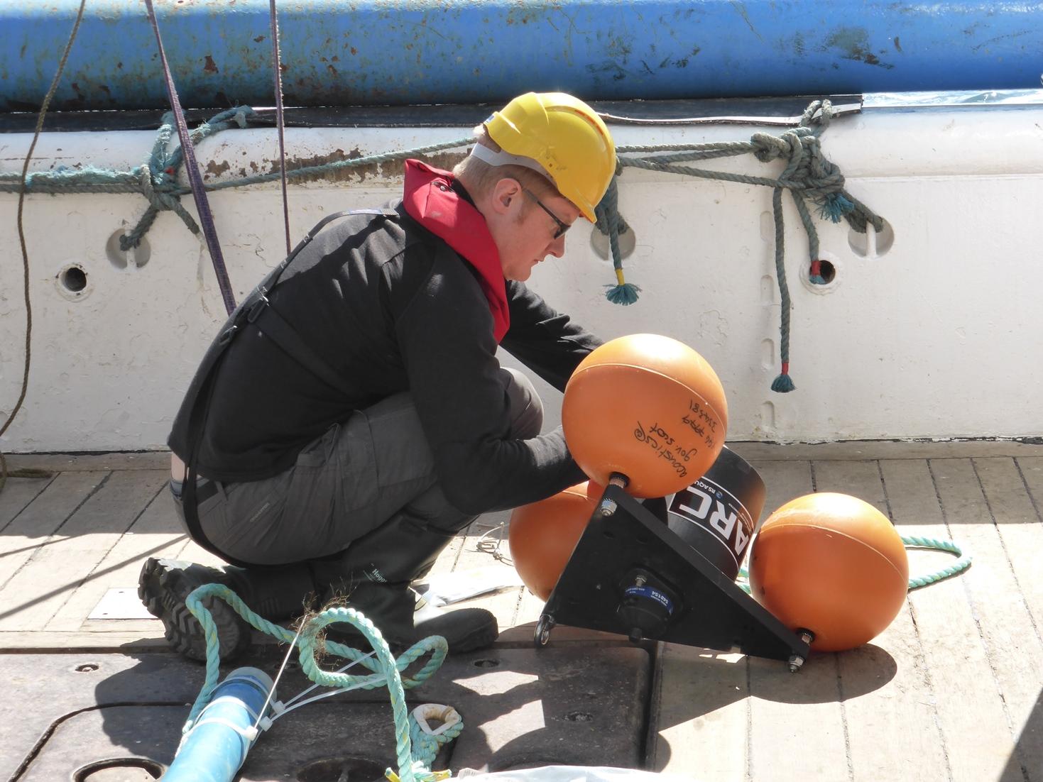 Underwater sound data collection around Western Scotland and Northern Ireland